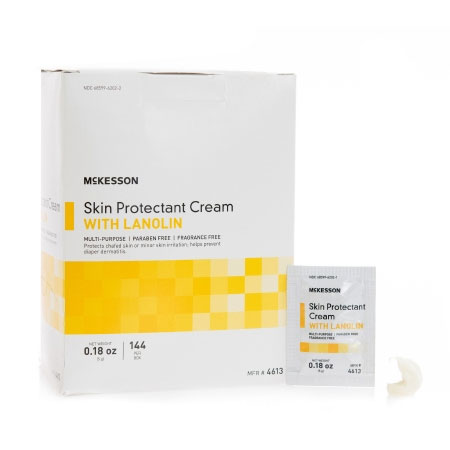 McKesson Unscented Skin Protectant Cream, 5 Gram Individual Packet