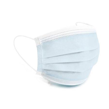 Cypress Adult ASTM Level 1 Pleated Earloops Procedure Mask