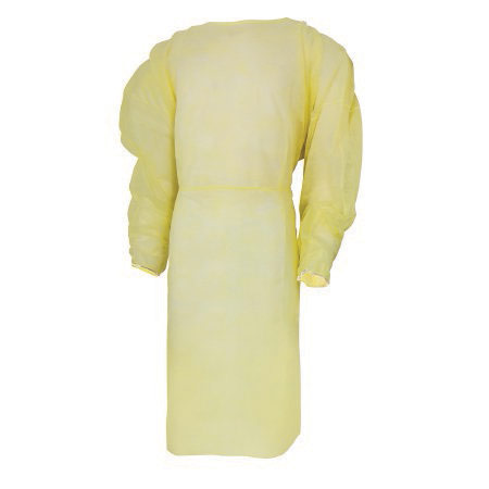 Mckesson Protective Procedure Gown Adult, Yellow