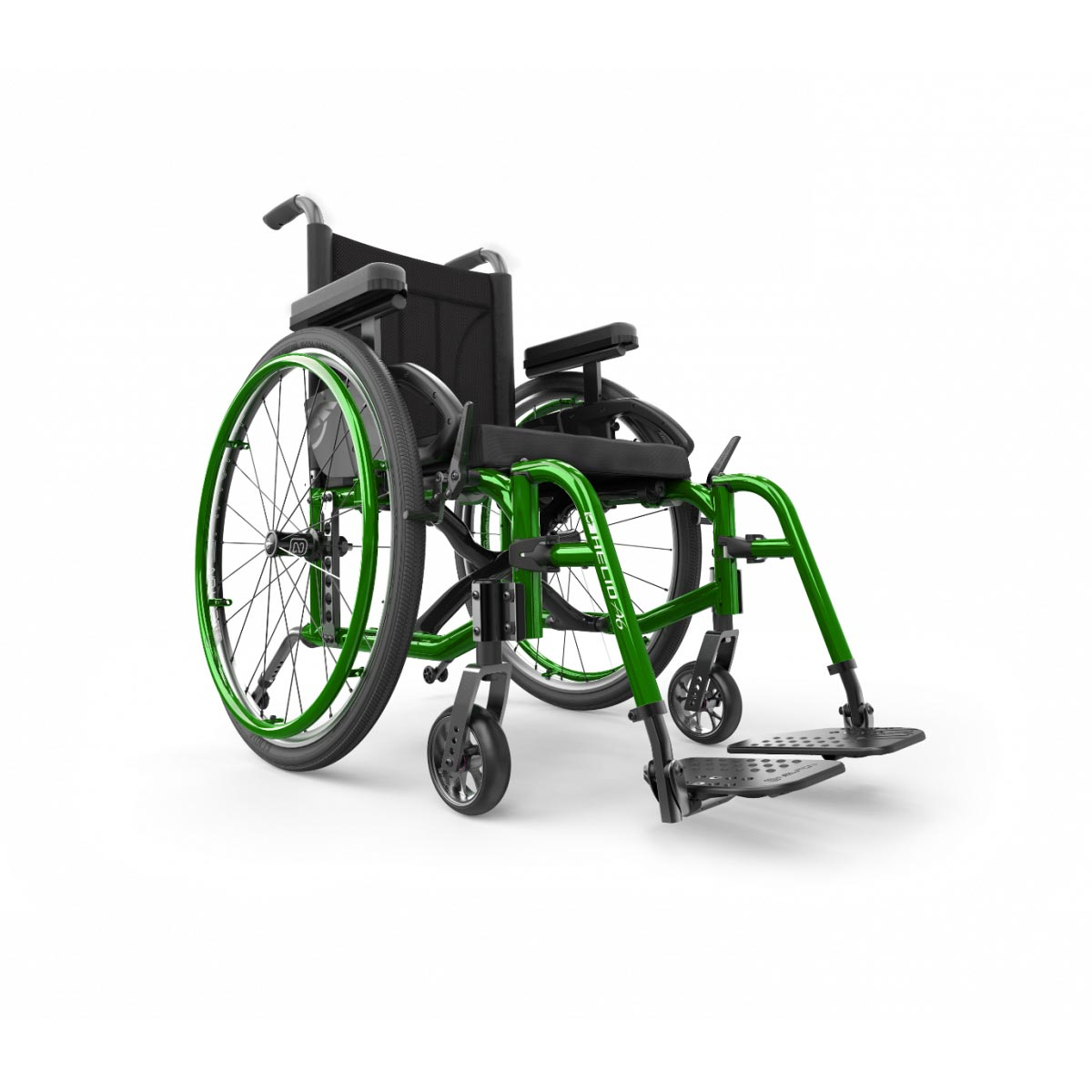 Motion Composites Helio A6 Aluminum Folding Wheelchair