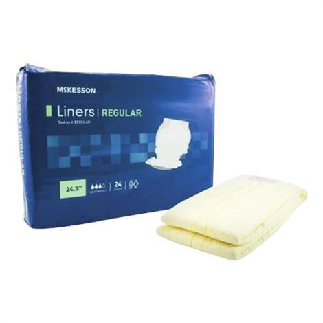 Mckesson Unisex Disposable Incontinence Liners