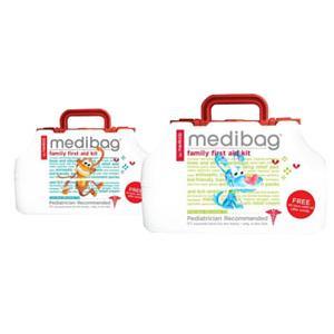 Me4Kidz MediBag Family First Aid Kit, 117 Items