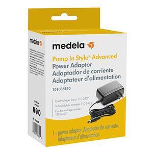 Medela Pump in Style Advanced Power Adaptor for Breast Pump, Black