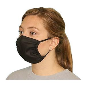 Medical Specialties Adjustable Face Mask Black
