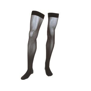 Mediven Assure Thigh High Compression Stockings, Size 3, Black