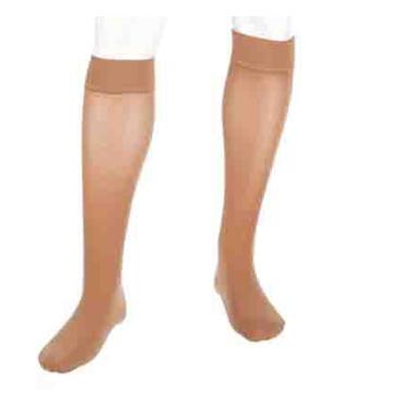 Mediven Plus Calf High Compression Stocking, Beige, Closed Toe