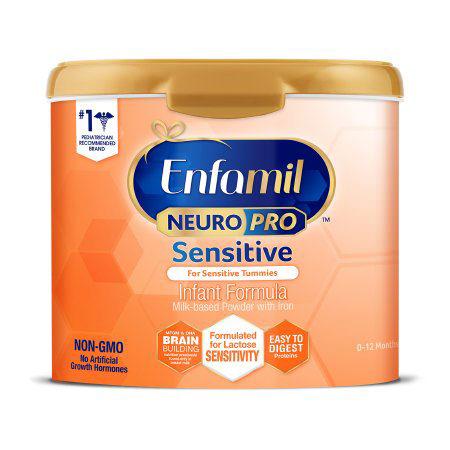 Enfamil NeuroPro Sensitive Milk Based Infant Formula with Iron