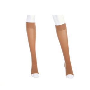 Mediven Plus Calf High Compression Stockings, Size 3, Beige