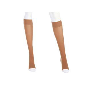 Mediven Plus Calf High Compression Stockings, Size 5, Petite, Beige