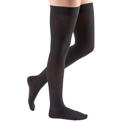 Mediven Comfort Thigh High Compression Stocking, Size 2, Black