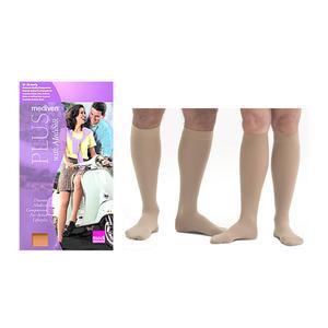 Mediven Plus Knee High Compression Stocking, Size 3, Beige