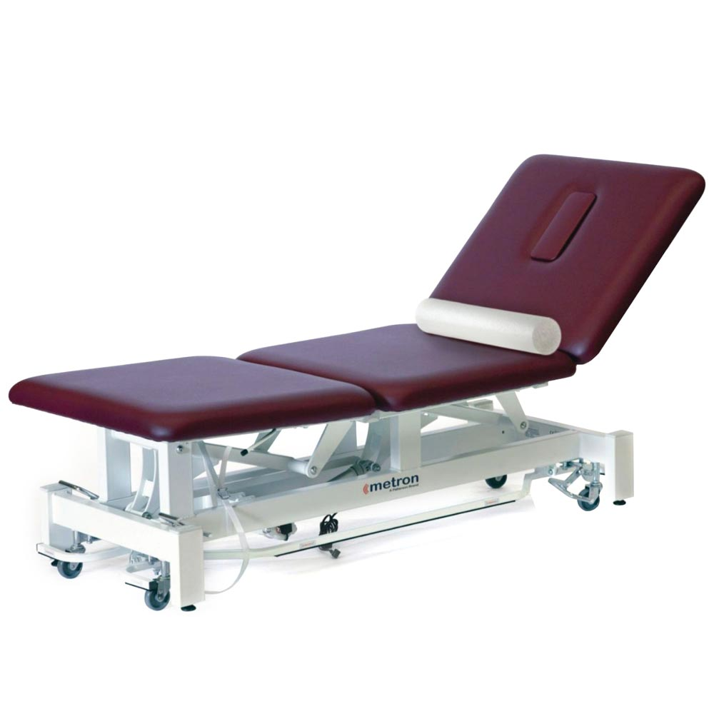 Metron elite 2 & 3-section table with roll