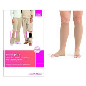 Mediven Plus Compression Stocking, Size 4, Beige