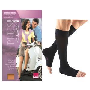 Mediven Plus Calf High Compression Stocking, Size 5, Black