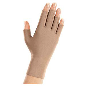 Mediven Harmony Compression Glove with Fingers, Size 2, Sand