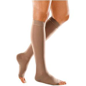 Mediven Forte Compression Stocking, X-Wide, Open Toe