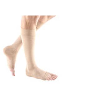 Mediven Forte Calf-High Compression Stocking, X-Wide, Open Toe