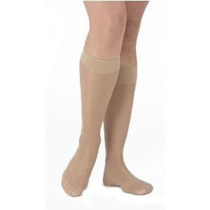 Mediven Sheer & Soft Knee High Compression Stockings, Size 3, Natural