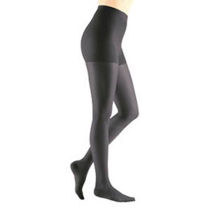 Mediven Sheer & Soft Pantyhose Compression Stocking, Size 3, Petite, Ebony
