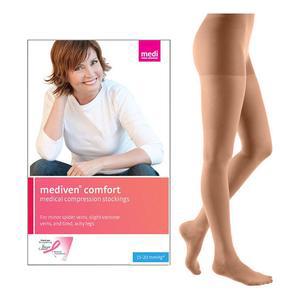 Medi Mediven Comfort Pantyhose Compression Stocking, Size 2, Natural