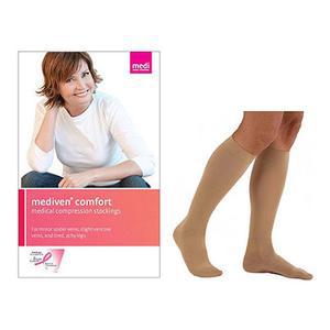 Mediven Comfort Calf High Stocking Compression, Size 6, Petite, Natural