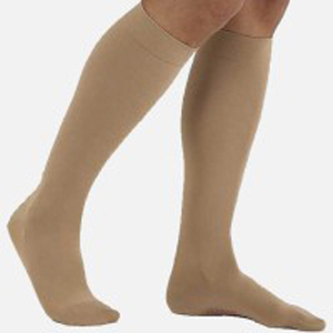 Mediven Comfort Women's Compression Stockings, Natural, Closed Toe