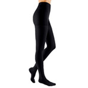 Mediven Comfort Compression Pantyhose, Size 2, Ebony, Closed Toe