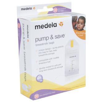 Medela Breast Milk Storage Bag Zipper Top