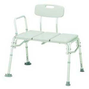 Merits Aluminum Frame Bariatric Bath Transfer Bench