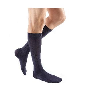 Mediven Men Classic Calf High Compression Stocking, Size 3, Navy