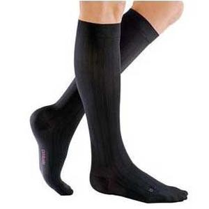 Mediven Classic & Select Men's Calf High Compression Socks, Size 4, Black