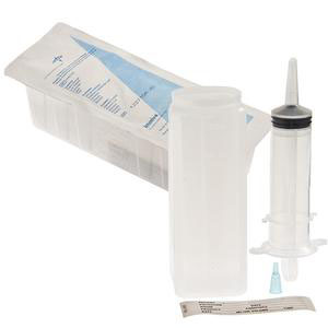 Medline Industries Blister Piston Irrigation Syringe Feed Tray, Sterile