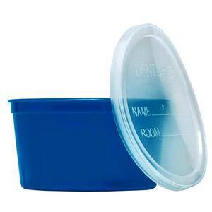 Medline Denture Container