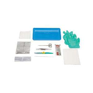 Medline E*Kit Debriment Tray with Safety Scalpel