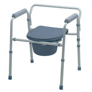 Medline Guardian 3-In-1 Commode, 21-1/4 Inch W