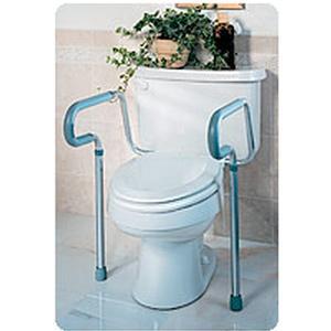 Medline Guardian Toilet Safety Frame, 250 lb