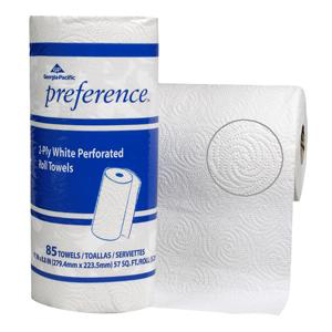 Medline Preference Perforated Towel, White, Paper