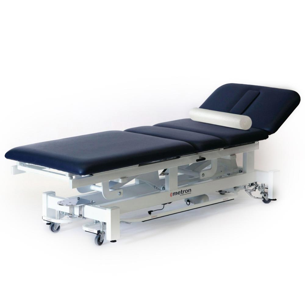 Metron elite hi-lo traction table with roll
