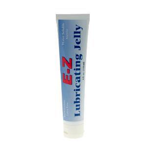 Medline E-Z Lubricating Jelly, Flip Top Squeeze Tube, 4 oz