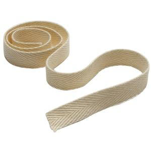 """Medline Unbleached Twill Tape with 1/2"""" W x 72 yards L, Latex-free, 100% Polyester"""