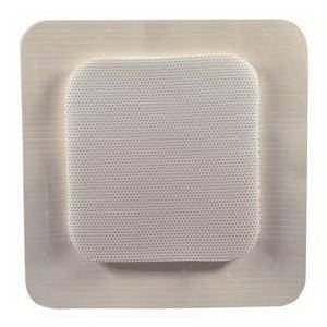 """MediPurpose MediPlus Comfort Foam Border Ag Island Dressing, Sterile 4"""" x 4"""""""