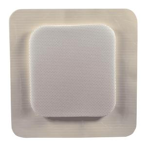 "MediPlus Comfort Foam Border Ag Island Dressing, Sterile 6"" x 6"""