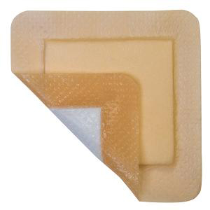 "MediPlus Silicone Comfort Foam Adhesive Border 6"" x 6"""