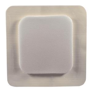 "Medipurpose mediplus-comfort foam border Ag island sacral dressing, 8.7"" x 8.7"""