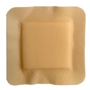 MediPlus Silicone Comfort Foam Adhesive Border Dressing, 3 Inch x 3 Inch