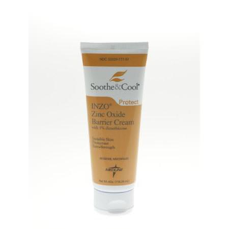 Soothe & Cool INZO Skin Protectant Unscented Cream