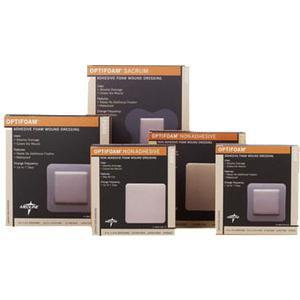 Medline Optifoam Square Shape Non Adhesive Foam Dressing