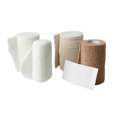 Medline Fourflex Multi-Layer Compression Bandage System , 4 Layer, 4 Inch