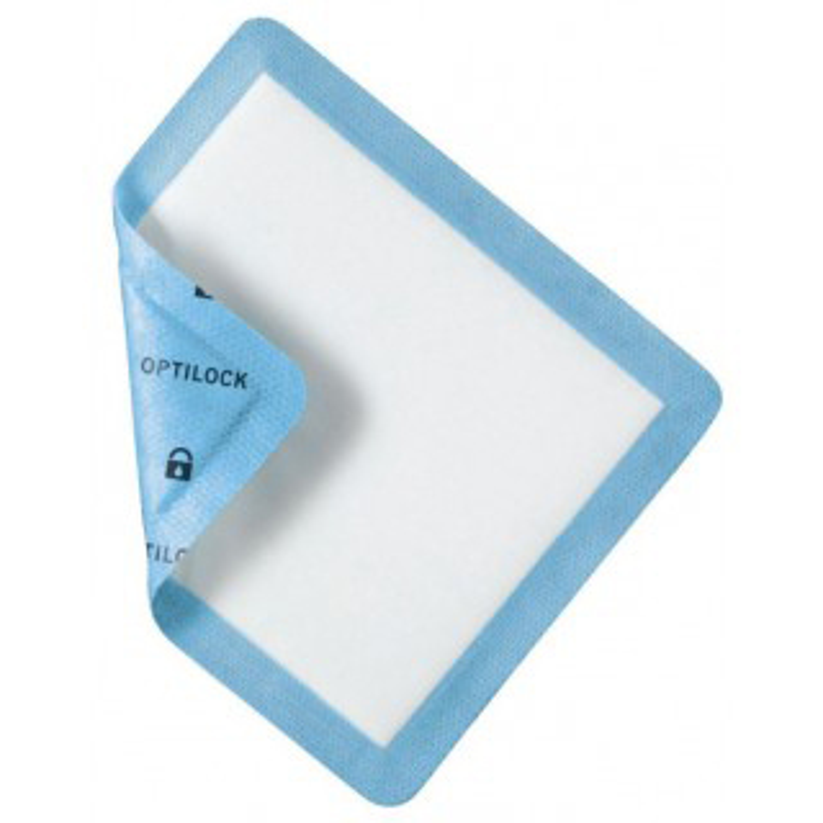 Medline OptiLock Non-Adhesive Foam Dressing, 8 Inch x 12 Inch