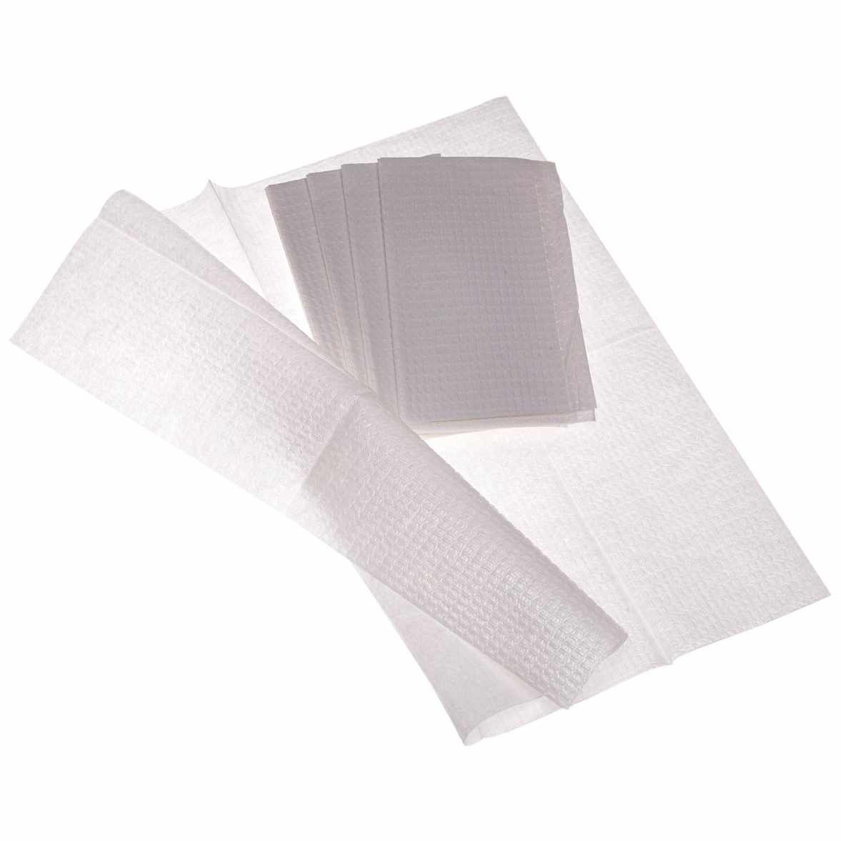 """Medline Industries Professional Towels, 13"""" x 18"""", White, 2 Ply"""